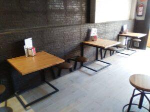 Mesas en hierro forjado