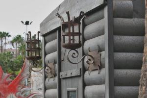 Faroles para exterior en hierro forjado