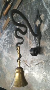Soportes en hierro forjado
