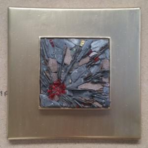 Marcos en hierro para mosaicos