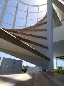 Escaleras en hierro forjado - Elementos de arquitectura