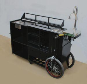 Adaptación carro cocktail